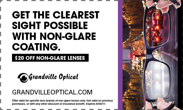 get the clearest sight possible with non-glare coating