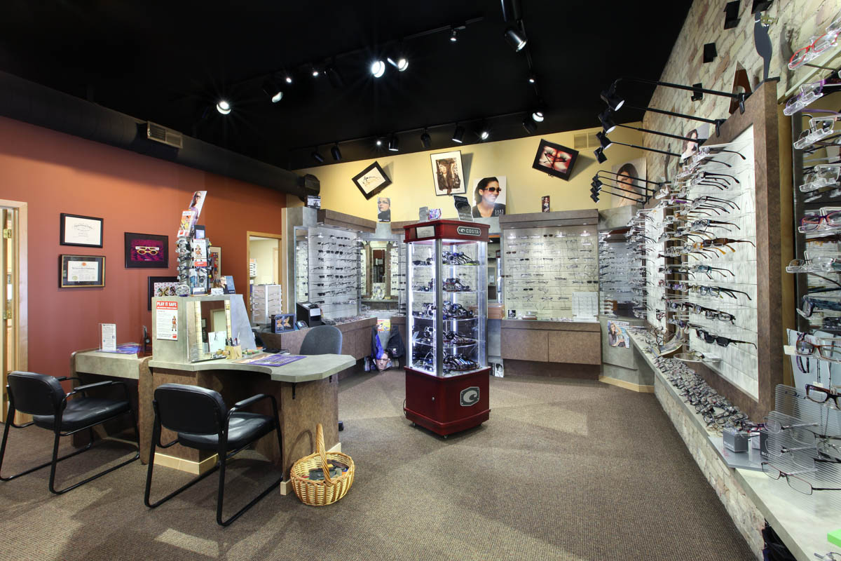 Woodbridge Family Eye Care optical shop